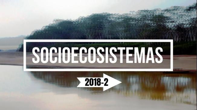 ¡Bienvenida a Socioecosistemas 2018-2!