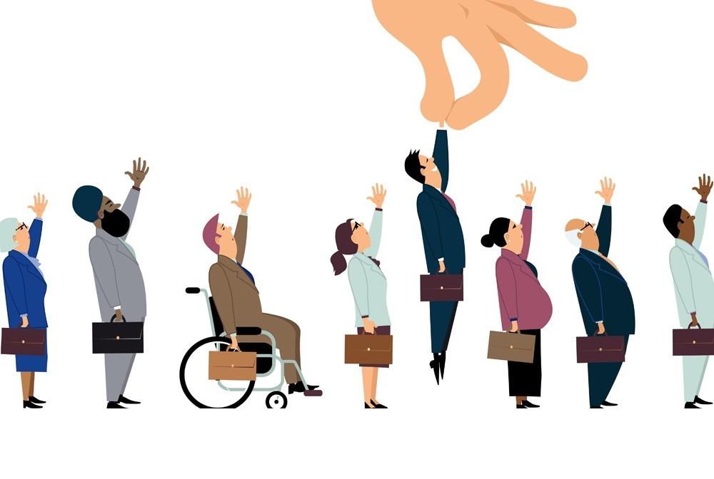 La delgada línea de la discriminación: una visión desde los procesos de selección de personal