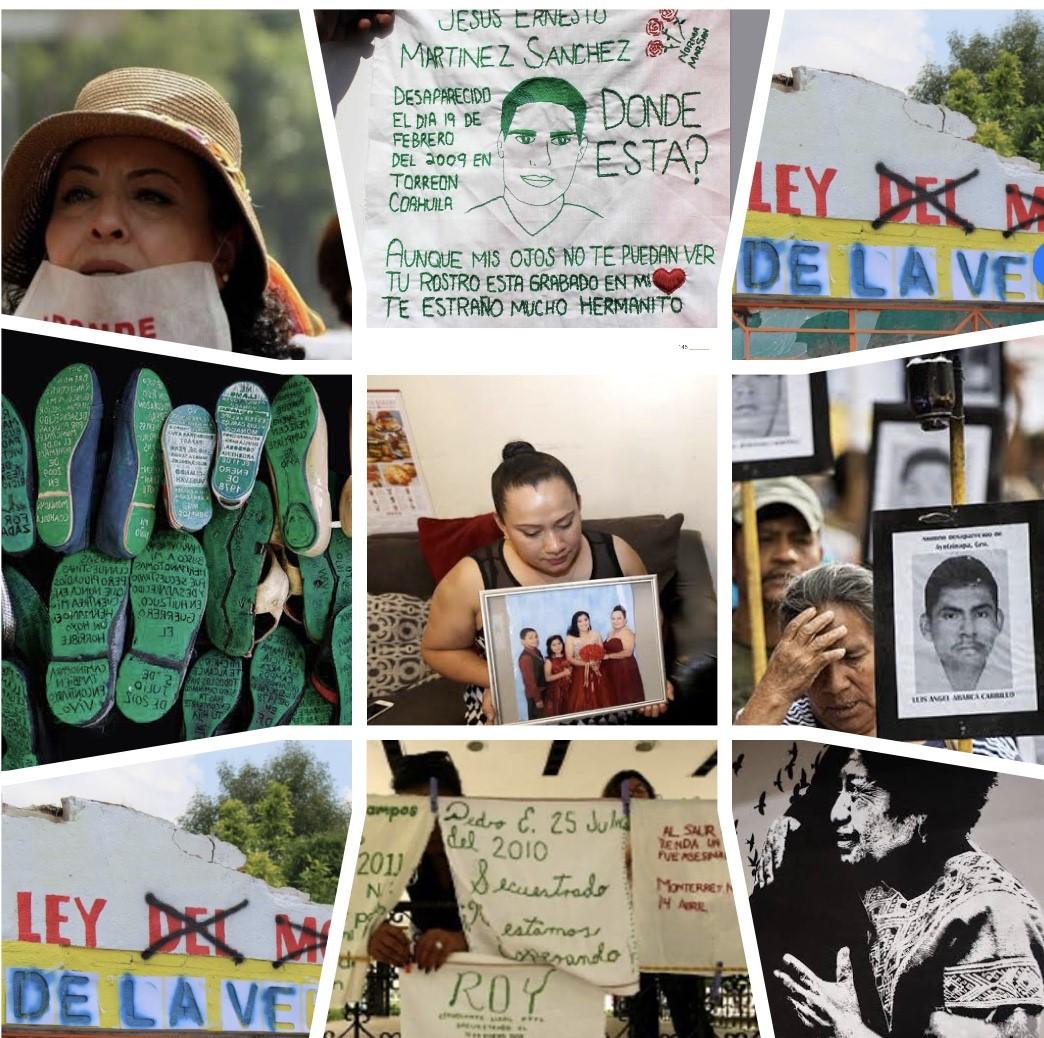 El arte como forma de denuncia y construcción de memorias colectivas en casos de desaparición forzada