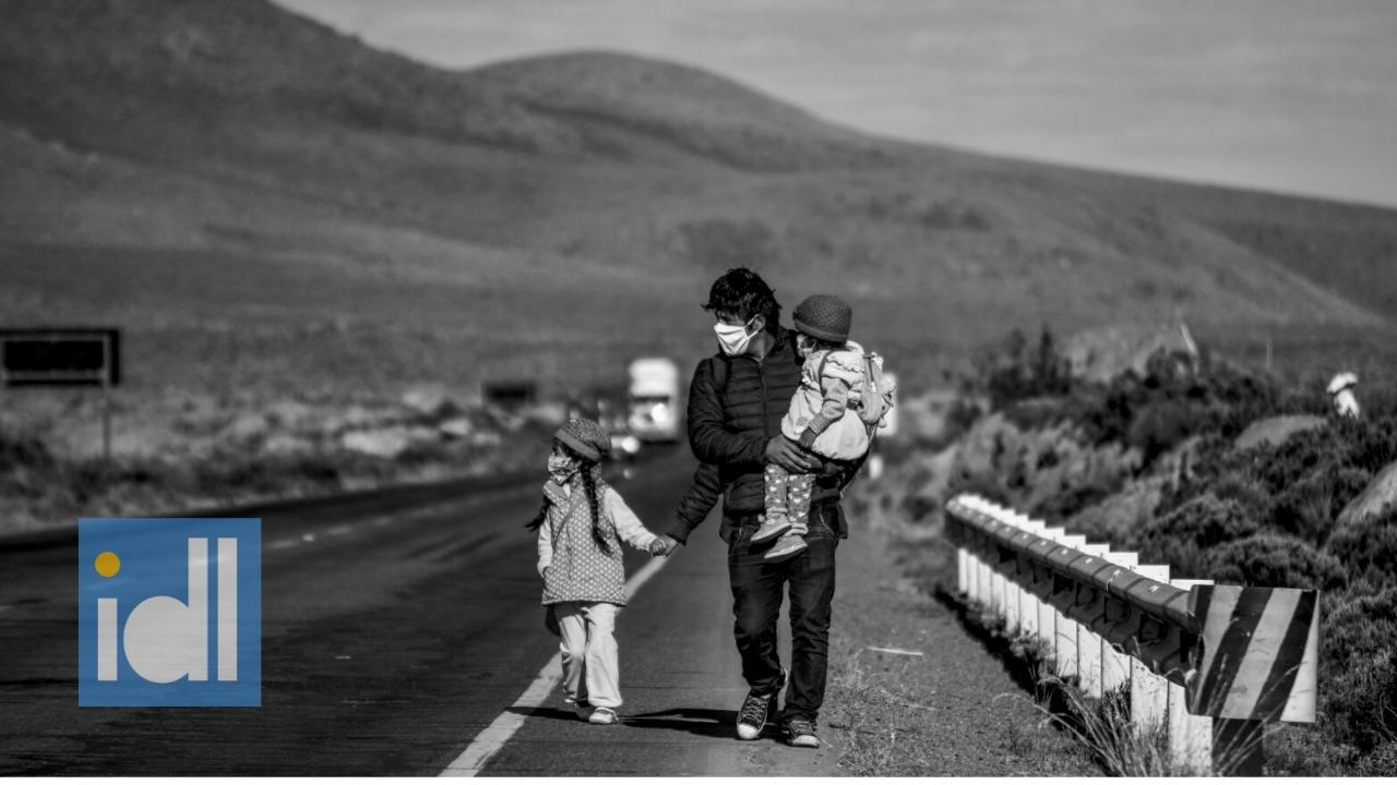 """Los """"retornantes"""" como víctimas del desplazamiento interno en un contexto de pandemia"""