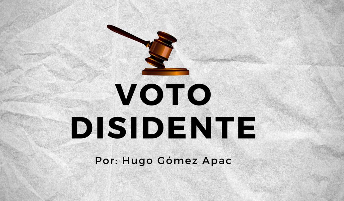 Voto Disidente